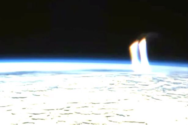 Alien-warship-spotted-on-NASA-feed-blasting-Earth-with-plasma