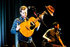 Denver's the Lumineers play a sold out headlining show at Terminal 5 in New York City on Feb. 1, 2013.