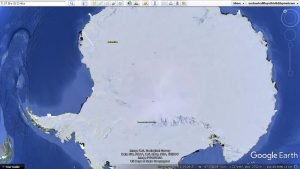 Antarctica Exposed: Stunning Video Shows Multiple Hollow Earth Entrances, Pyramids and UFO's on Google Earth