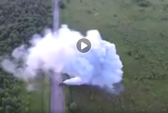 Mobile Weather Modification Machine Caught Making Clouds By Drone - Chemtrails And Geo-Modification