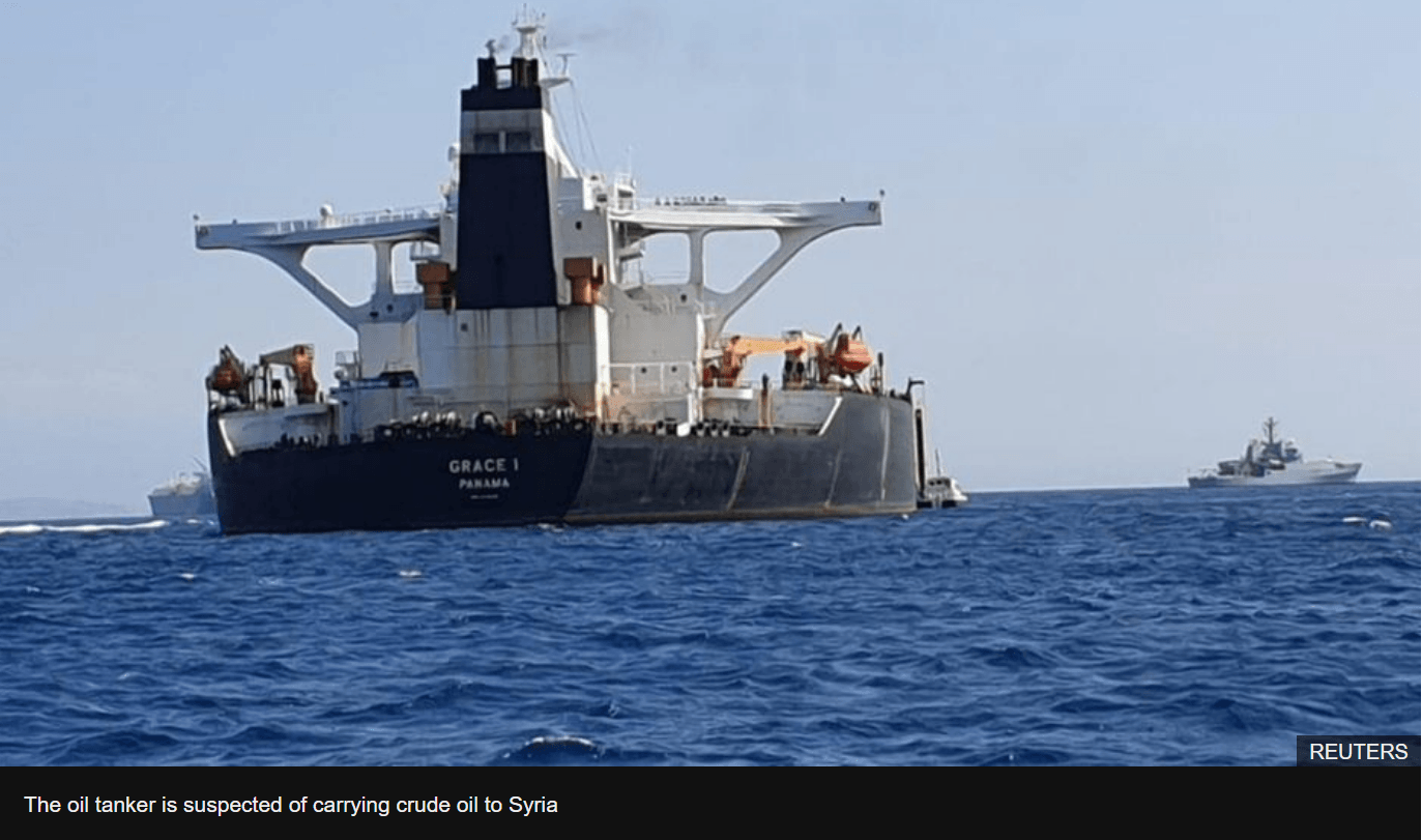 Royal Marines Seize Iranian Oil tanker - Report By Enchanted Lifepath