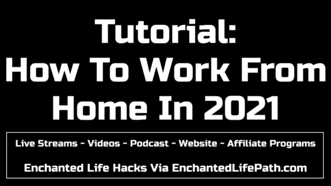 Live Streams - Videos - Podcast - Website - Affiliate Programs
