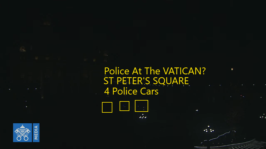 Police Cars Seen At Vatican By Enchanted LifePath