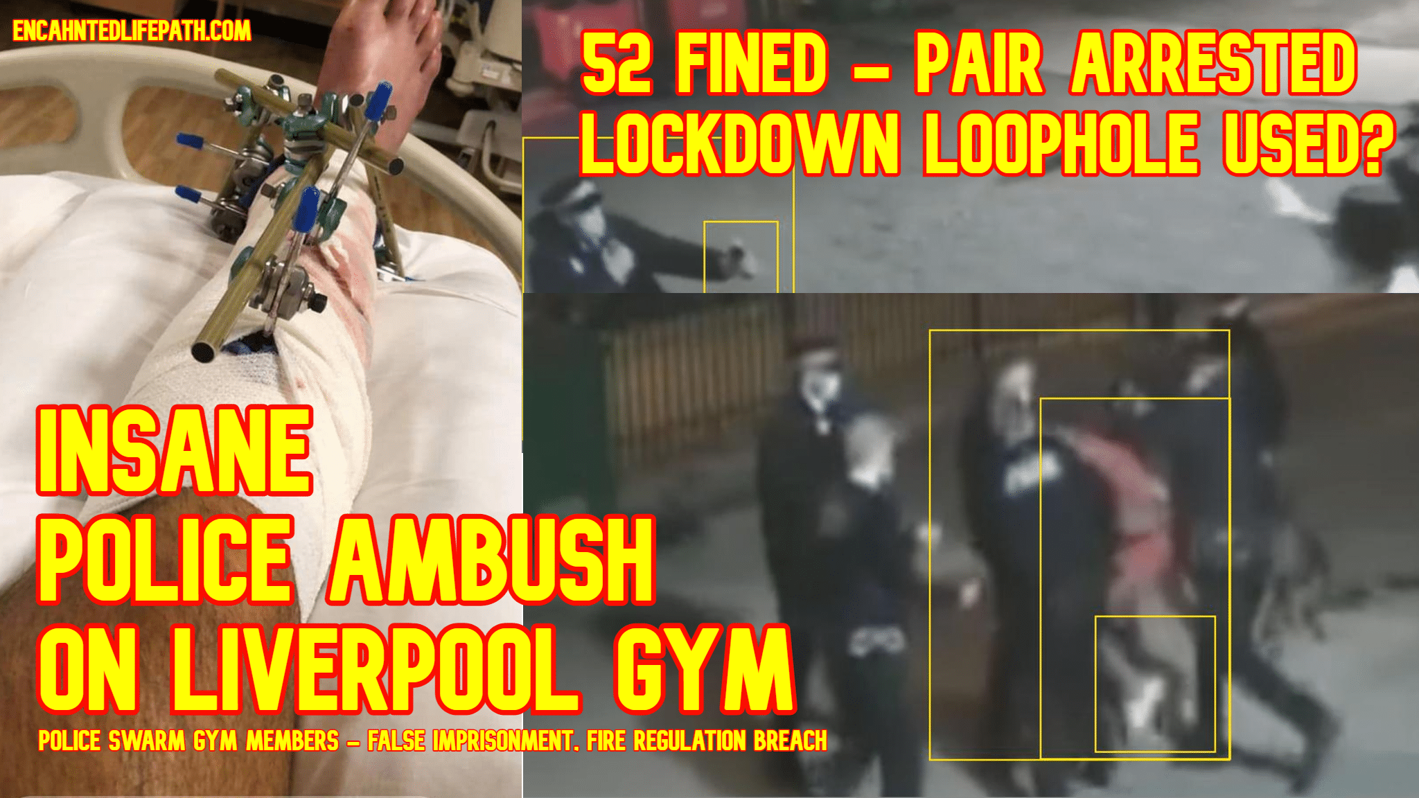 Liverpool gym arrests Insane Police Ambush On Liverpool Gym - 52 Fined - 2 Arrests - Police Brutality - False Imprisonment - Breach Of Fire Regulations