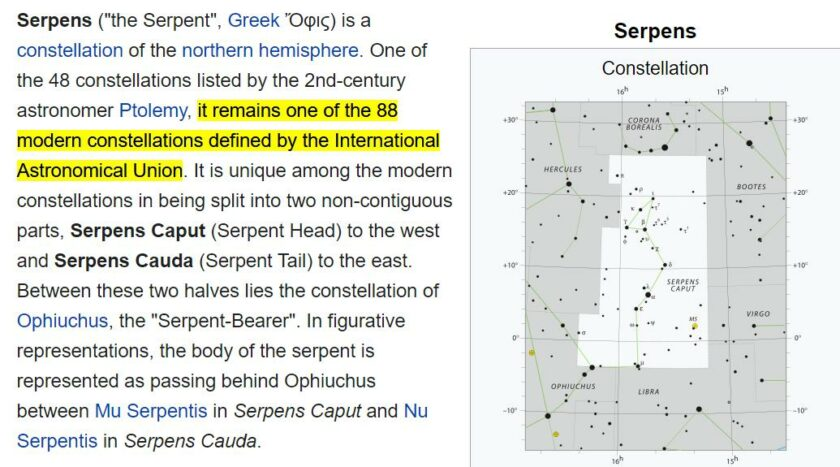 88 serpent - Serpens constellation. Occult - Pablo Hasel decoded - Enchanted LifePath article report
