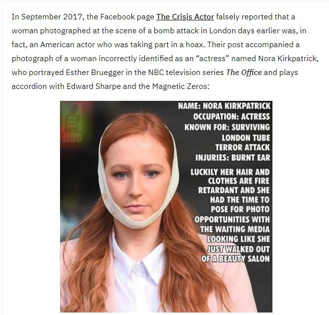 parsons green victim victoria holloway compared to nora kirkpatrick and patsy stevenson as well as polina buckley from the bataclan